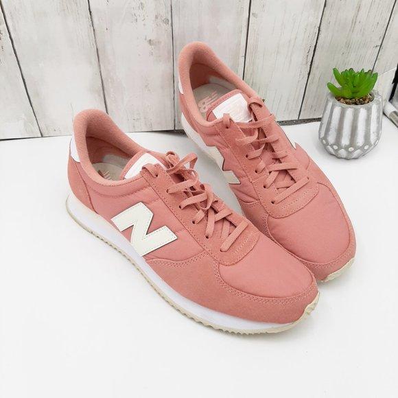 Blush Pink Laceup Sneakers Sz 9